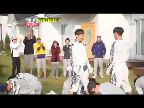 TVXQ Catch Me Running Man Ep 115