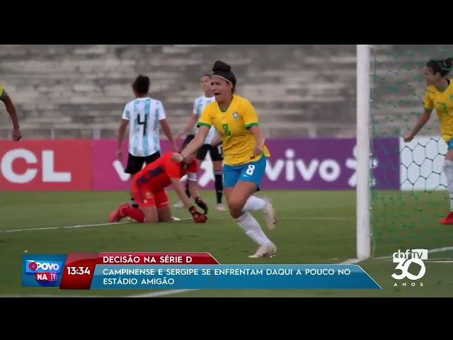 Esporte  - 18 09 2021 -   O Povo na TV