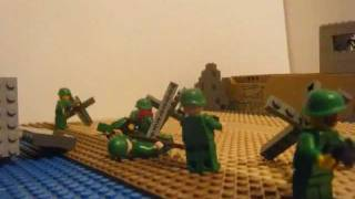 lego World War Two d-day normandy landings: sword beach