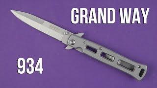 Розпакування Grand Way 934