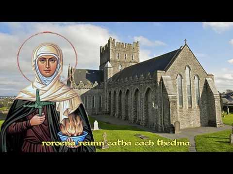 "Brigit bé bithmaith  ""Irish liber hymnorum, 11th century"""