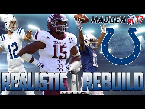 Madden 17 Connected Franchise | Realistic Rebuild: Indianapolis Colts | Myles Garrett Record Breaker