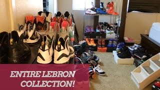 ENTIRE NIKE LEBRON SNEAKER COLLECTION!! 2017