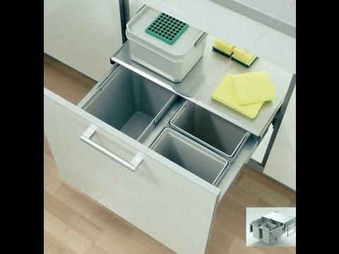 decouvrez notre poubelle a tri selectif pour meuble de cuisine accessoires de cuisines com