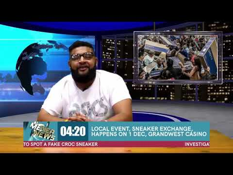 MR.MEYER - MEYER NEWS SOUTH AFRICA🌍🇿🇦⬆️ (SPECIAL EDITION SNEAKER EXCHANGE PROMO!!! ft Zaid Osman