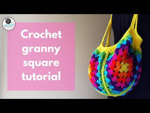 Crochet Market Bag Tutorial