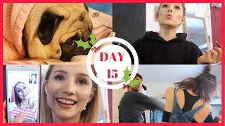 FUNNY VOCAL WARMUP AND STAGE COMBAT WITH JORDAN | VLOGERELLA DAY 15 | Georgie Ashford