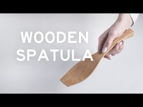 Making a Wooden Spatula with a Bandsaw