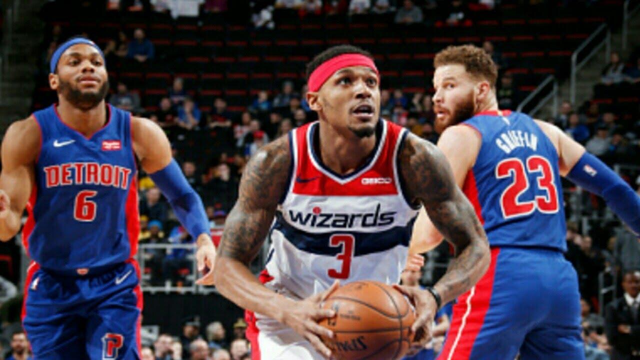 9f40df8f9efc Detroit Pistons vs Washington Wizards Full Game Highlights