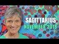 Sagittarius November 2018 Astrology Horoscope - Good Fortune and Happy Birthday!!!