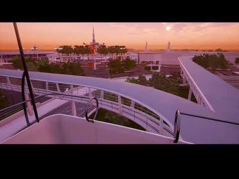 Tomorrowland 1979 Skyway Boarding