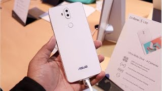 Asus Zenfone 5 Lite (2018) Hands on, Camera, Features, India [ZC600KL]