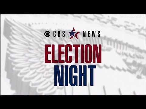CBS News Election Night Open and Close 2016