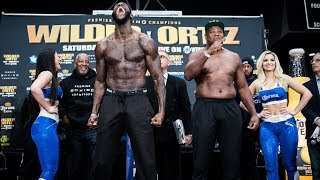 Wilder vs. Ortiz: Weigh-In   SHOWTIME CHAMPIONSHIP BOXING