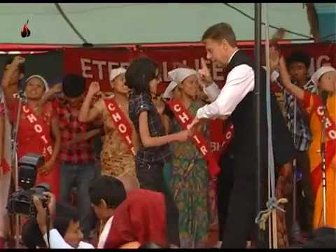Astonishing Miracle in Kathmandu, Nepal 2012 - Pastor Tommy Lilja Ministries