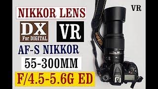 AF-S DX Nikkor 55-300mm F 4 5-5 6G ED VR Lens Review HINDI