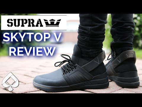 Best Skate Shoe Ever  Supra Skytop 5 Review  8a1b70546e5