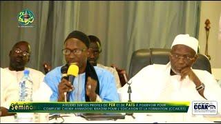 Discours de S. Same Bousso Abdou Rahmane ( Ouverture du Séminaire du Comité Scientifique du CCAK )
