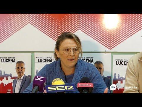 """VÍDEO: El PSOE de Lucena pide más recursos contra el """"terrorismo machista"""""""
