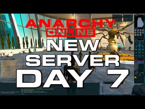 Anarchy Online –  NEW SERVER – DAY 7