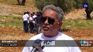 زراعة ألف شجرة في قريتين شمال القدس ضمن برنامج المليون شجرة (5-1-2019)
