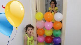 مقلب بالبالون | عملنا مقلب مضحك بسوار | balloon prank |sewar plays with balloon | funny balloon |