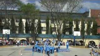 IV - Assumption Of Mary(AOM) 0910 OLOPS College CHEERDANCE 2010 - CHAMPION