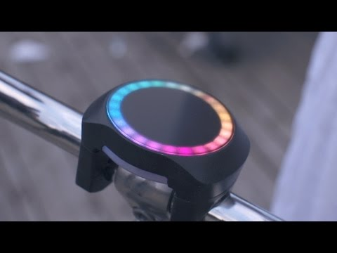SmartHalo bike accessory combines navigation, activity tracking and alarm system