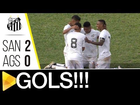 Santos B 2 x 0 Água Santa | GOLS | Copa Paulista (26/08/17)