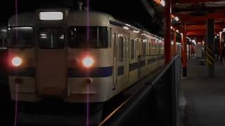 鹿児島本線普通列車(415系、鳥栖行き)・二日市駅を発車