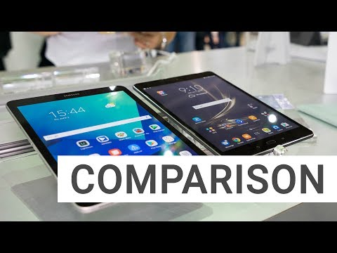 Comparison: Samsung Galaxy Tab S3 vs. ASUS ZenPad 3S 10