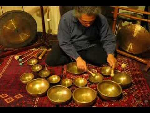 Tibetan Singing Bowl Shiva Lingham And Gong Meditation