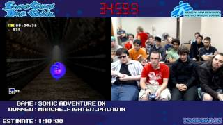 Sonic Adventure DX :: SPEED RUN in 0:42:28 (Sonic) (+Amy) #SGDQ 2013