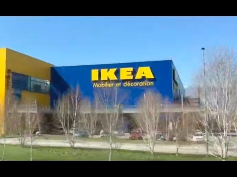 Going To An IKEA In Grenoble, France!!