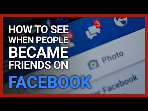 How to see activity between two friends on facebook