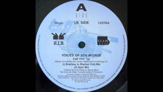 Voices Of 6th Avenue ‎- Call Him Up (Slam Mix)