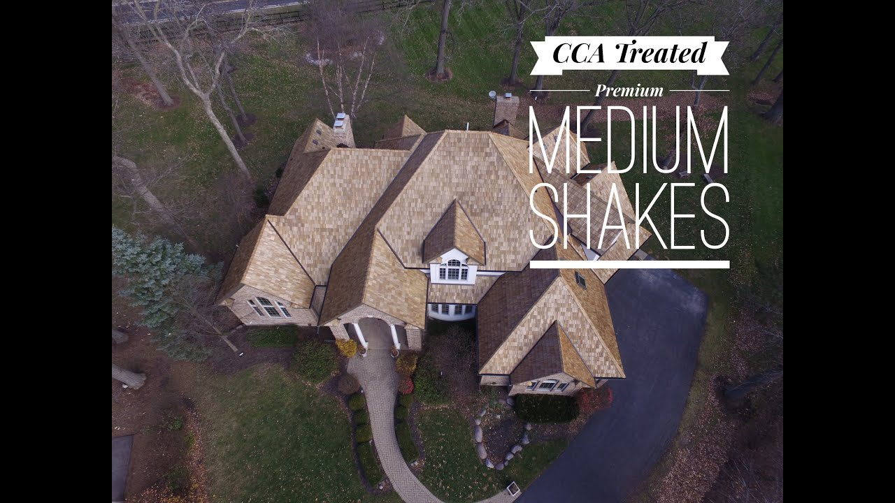 Cedar Roofing Company   CCA Treated Premium Medium Shakes