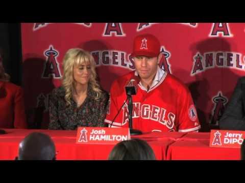 Josh Hamilton Angels' Press Conference [FULL]