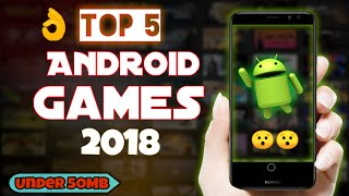 TOP 5 AWESOME HIGH GRAPHICS GAMES FOR ANDROID UNDER 50 MB! | MUST WATCH