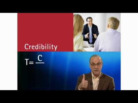 Understanding The Trust Equation for Business Professionals