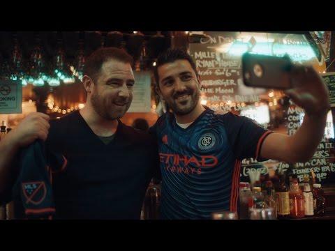 New York City FC 2016 Secondary Jersey Reveal: David Villa