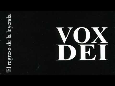 Vox Dei - A Nadie Le Interesa Si Quedas Atras (total Que)