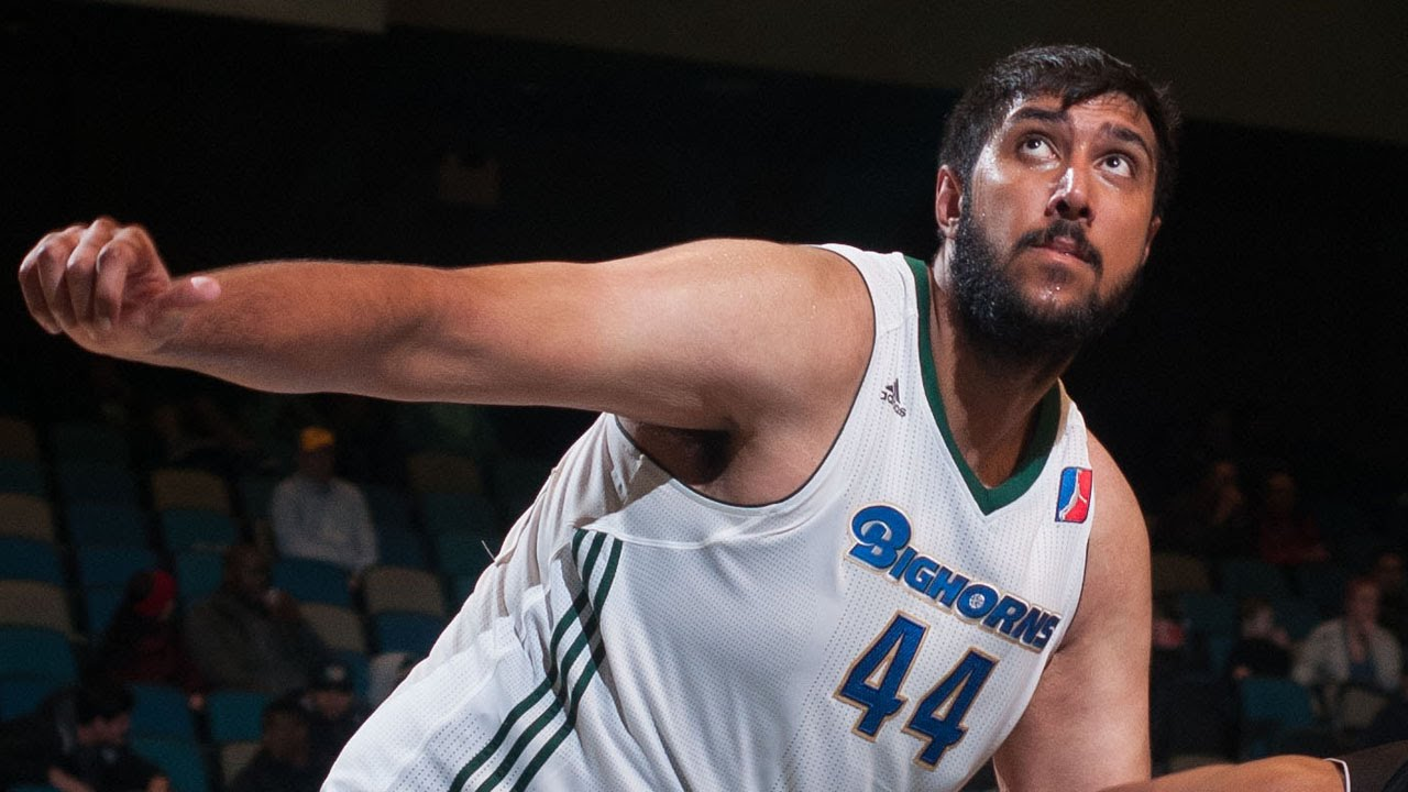 Sim Bhullar puts up 26 points 17 rebounds  11 blocks vs the DFenders  YouTube