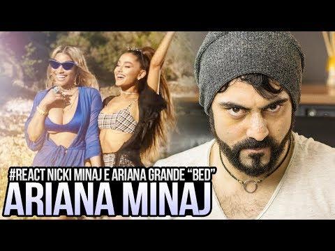 "REAGINDO a Nicki Minaj – ""Bed"" feat  Ariana Grande"
