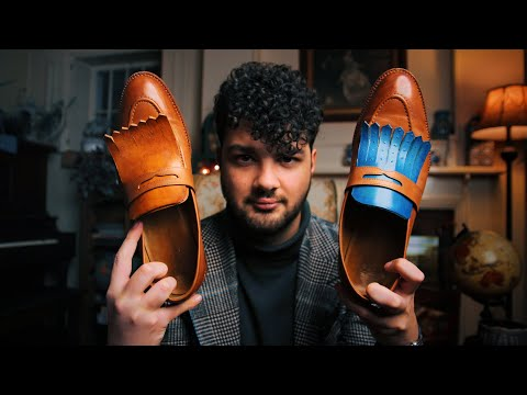 How to customize your leather shoes | DIY Fringe Loafer Documentary