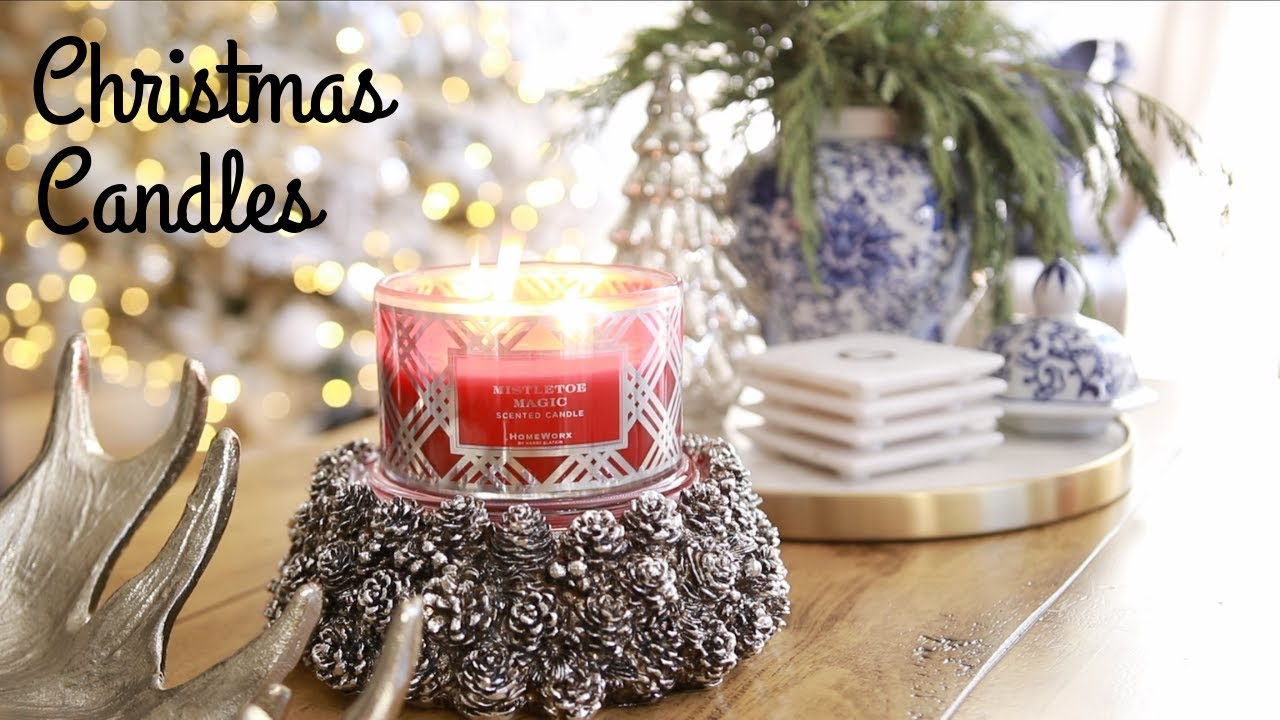 Best Christmas Candles.The Best Christmas Candles