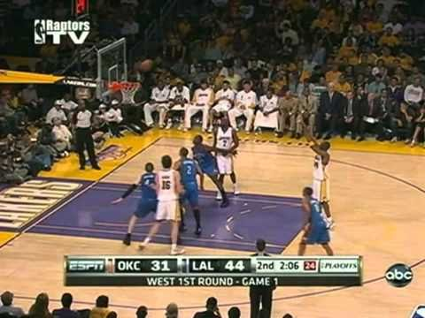2010 NBA Playoffs Los Angeles Lakers Vs Oklahoma City Thunder Game 1 Part 5