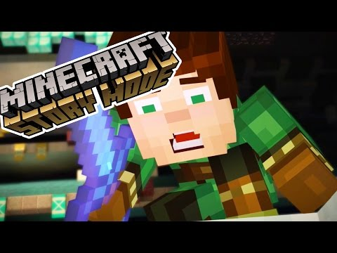 LUKAS AND IVOR.. NOOOO!!!! | Minecraft : Story Mode | Episode 8 [1]