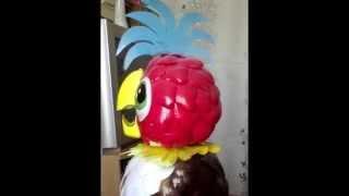 Попугай Кеша из пластиковых бутылок(Как сделать попугая Кешу из пластиковых бутылок своими руками. Комментируйте данное видео, ставьте палец..., 2014-07-17T12:38:28.000Z)