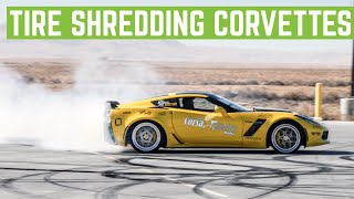 Z06 Corvettes Ripping MASSIVE DONUTS And I Took The Aventador To 200+ MPH thumbnail